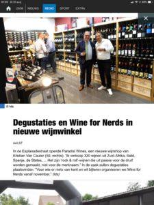 Degustaties en wine for nerds in nieuwe wijnwinkel